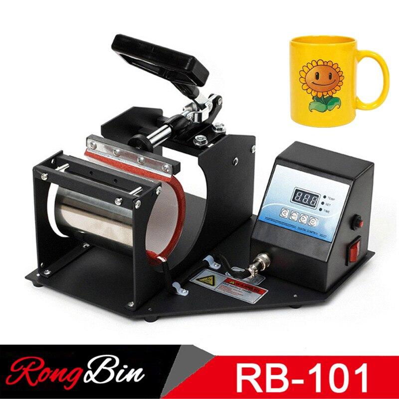 good quality Digital 11oz mug press machine heat press printer sublimation cup press machine free ship  Зубная щётка