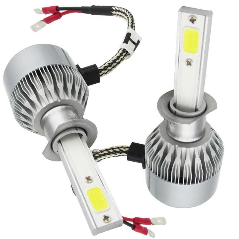 TXVSO8 110W/Pair H1 COB Led Headlamp Light Beam Car Led Headlight ...