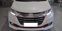 1 pc auto grade dianteira do carro mais baixo grills montagem para honda odyssey 2015 2018 Grades de corrida     -