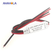 dc 12v mini rgb led amplifier for 3528 5050 rgb led strip lights output 12A 144w(China)