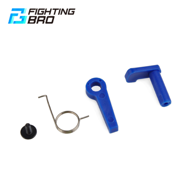 FightingBro Safety Lever/Switch For Airsoft AEG Ver.2 Ver.3 M4 AK Gearbox Plastic Paintball Outdoor Sports