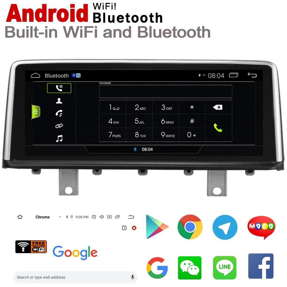 """ספיישל משחקי-Quercetti 10.25"""" סטריאו מסך HD אנדרואיד 7.0 עד לרכב GPS Navi מפה BMW M4 F82 F83 2013 ~ 2017 NBT מקורי סגנון נגן מולטימדיה לרכב (4)"""