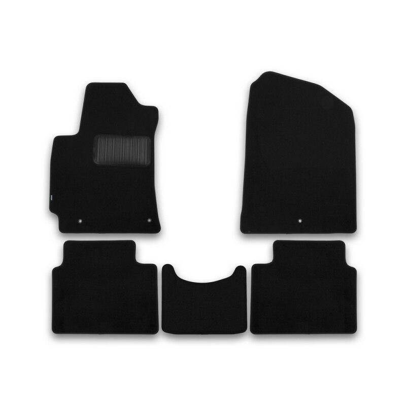 Mats in salon Klever Premium for HYUNDAI Elantra 2016-> сед... 5 PCs (textile) mats in salon klever premium for hyundai elantra 2014 2016 сед 5 pcs textile beige