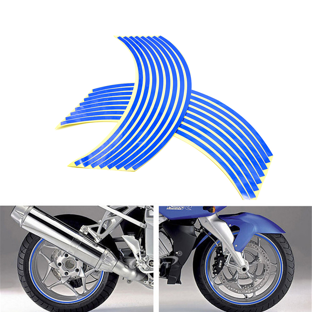 motorcycle sticker Colorful motor wheel stickers Reflective Rim Strip for Yamaha XJ6/DIVERSION XJR 1300/Racer XSR 700 900/ABS