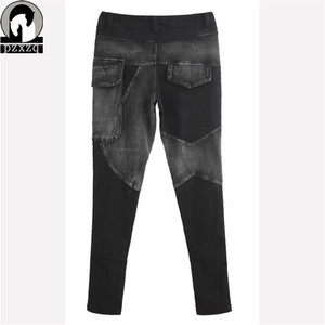 Image 5 - Free Shipping Europe Sexy Black Jeans Woman Pencil Pants spring Winter Baggy Casual Jeans Women Loose Haren Pants Jeans Feminina