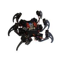 18Dof Aluminium Hexapod Spider Six 3DOF Legs Robot Frame With 18 Servo Horns For Arduino