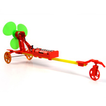DIY electric racing car education toys