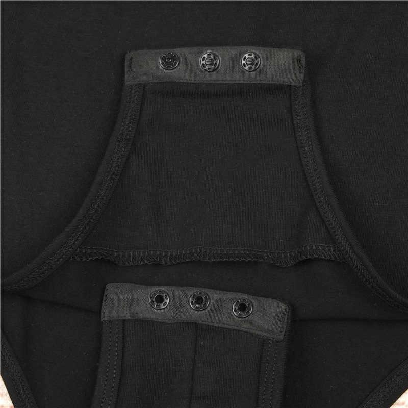 Черное боди женское повседневное зауженное облегающее без рукавов боди для женщин