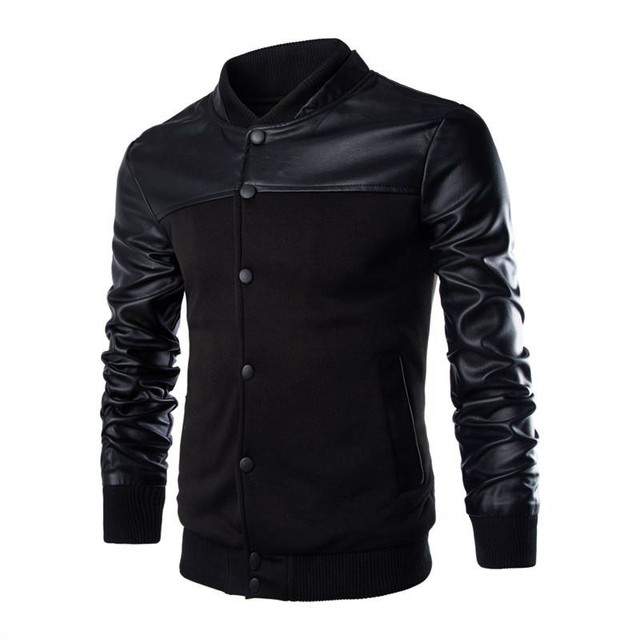 HOWL LOFTY leather jacket 2016 new winter stitching leather coat jackets men high quality business man winter jackets