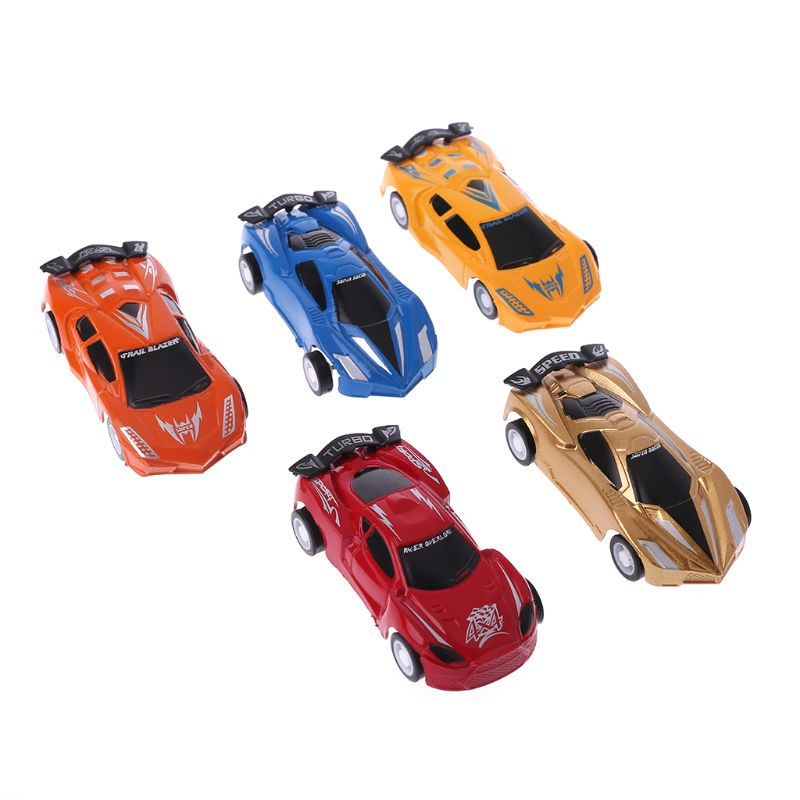 1Pc Mini Simulation Racing Car Model Pull Back Toy Children Plastic 3D Vehicle Puzzle Kids Educational Toys Children Gift New