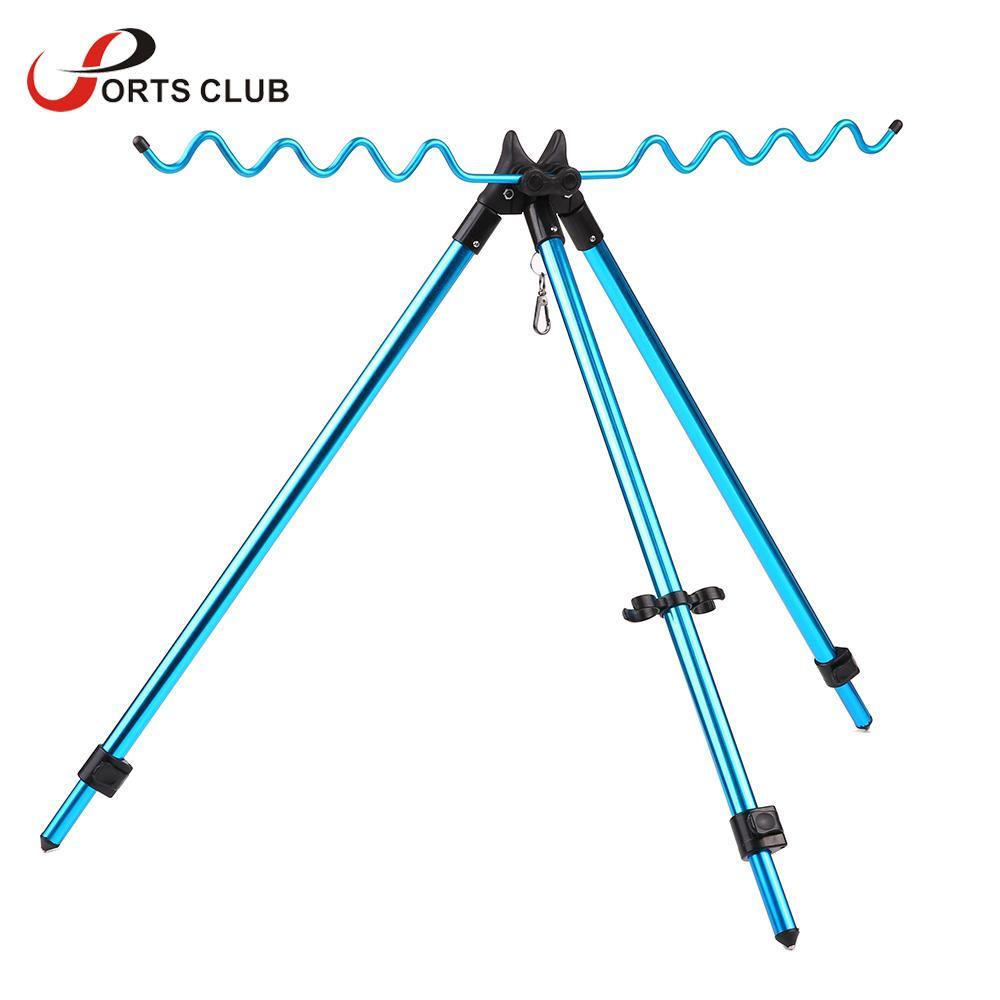Adjustable Double Pole Bracket Fishing Rod Stand Holder Sea Fishing Tackle yi
