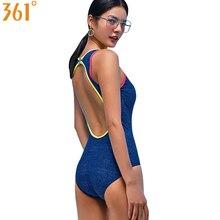 цена 361 Bathing Suit Women One Piece Swimsuit Sport Swimwear Sexy Swimming Suit for Women 2019 Monokini Female Swim Wear Slim Bather