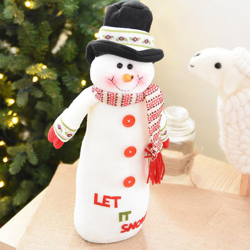 Christmas Xmas Snowman Doll Ornaments Desk Toy Decoration Home Decor