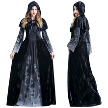 Halloween Victorian Dress Cosplay Costumes Scary Vampire Witch Clothes Women Medieval Masquerade Costume Ghost Fancy Maxi Dress halloween victorian dress cosplay costumes scary vampire witch clothes women medieval masquerade costume ghost fancy maxi dress
