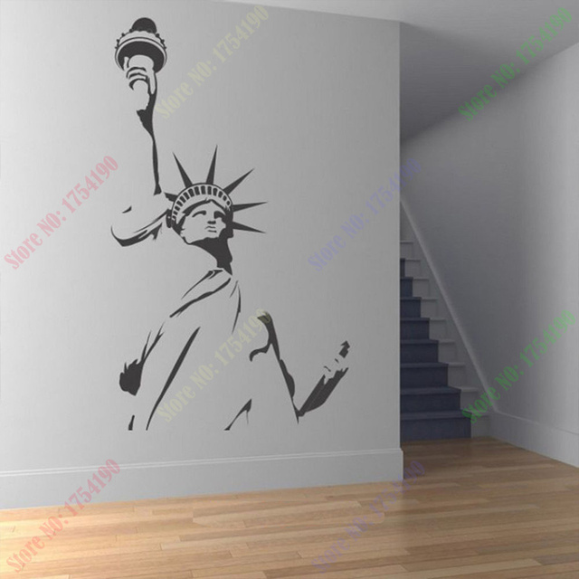 Superior New Statue Of Liberty New York America Wall Art Sticker Decal DIY Home  Decoration Decor Wall Nice Design