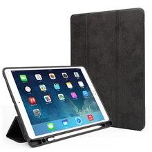 Tablet Case For ipad Pro 11 inch 2018 with Pen holder Luxury PU + PVC Cover Smart Bracket Case For ipad pro 11 Case цена в Москве и Питере
