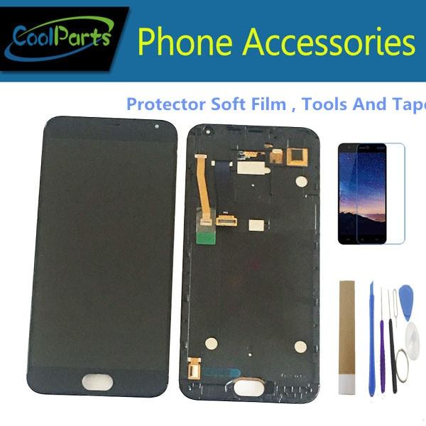 Original pour Meizu MX 5 M575M M575H Meizu MX5 écran d'affichage LCD + écran tactile numériseur assemblée couleur noire + Kits