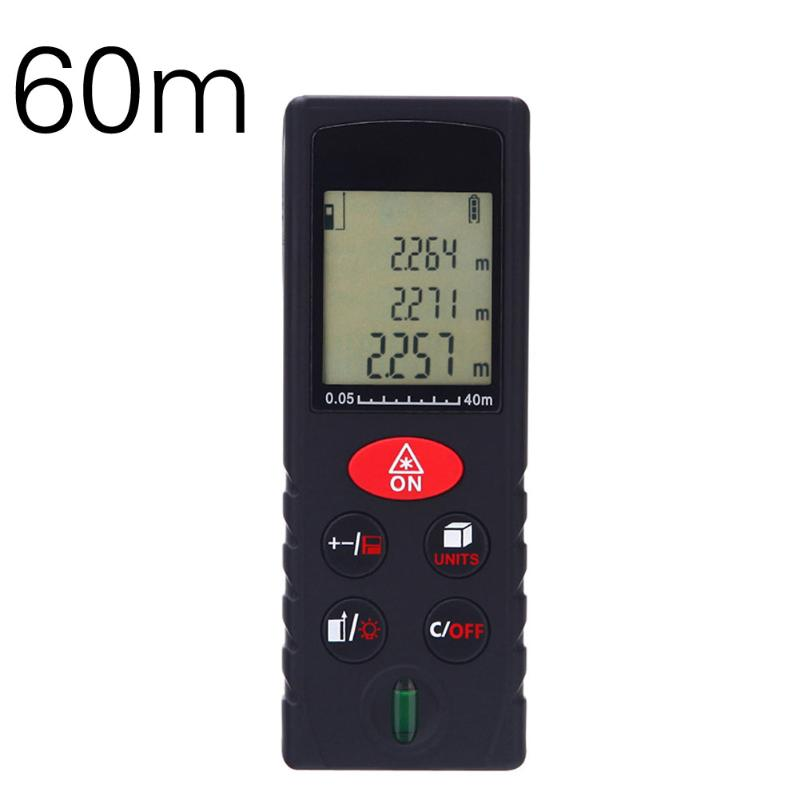 Mini Handheld Digital Laser Distance Meter 60M Rangefinder trena laser tape range finder build measure device ruler Test tool фотообои national geographic olive tree 3 68х2 54 м