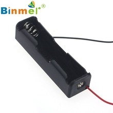 1 шт. 18650 Мощность Батарея чехол для хранения Пластик Box держатель с проводами dec30