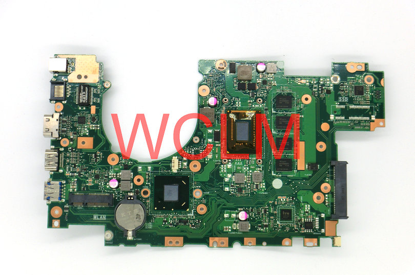 free shipping NEW brand original X502CA X402CA laptop motherboard for X402CA MAIN BOARD mainboard 60NB00I0-MBC080 tested good