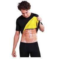 Slimming Belt Belly Men Slimming Vest Body Shaper Neoprene Abdomen Thermo Fat Burning Shaperwear Waist Sweat
