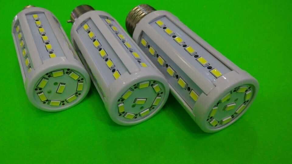 2 pçs/lote nova alta brilhante 13 w lâmpadas led e27 b22 e14 44 leds 110 v/220 v/ac alta qualidade 5630/5730 smd milho lâmpada led luz de teto