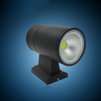 Hot Sale Modern 2 15W Dimmable COB LED Wall Light Double LED Outdoor Wall Light Outdoor