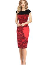 Vestidos Celebrity Women OL Pencil Dress Summer Sleeveless Bodycon Dress Ladies Casual Slim Lace Party Dresses Plus Size