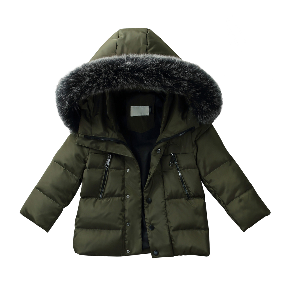 XYF8885 Girls Kids Autumn Winter Down Jackets 80% Duck Down Boys Winter Jacket Down Coat Keep Warm Outerwear 3-10T Coat xyf8831 girls kids autumn winter down jackets 80