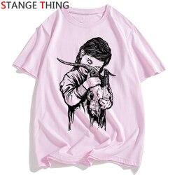 Szatan T Shirt mężczyźni/kobiety lucyfer Demon śmierci straszny zło satanizm Grim Reaper Baphomet T-shirt satanistycznych Tshirt mężczyzna/ damski top z krótkim rękawem 1