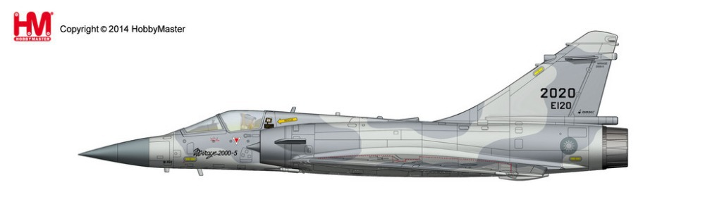 August Hobby Master HA1613 Mirage Mirage 2000 5 Taiwan Air