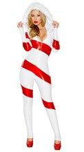 Mujeres de la navidad de halloween cosplay sexy red red dress ds trajes muñeco de nieve blanca para las mujeres adultos traje de lujo