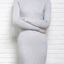 adohon womens winter Cashmere sweaters and auntmun women knitted Pullovers High Quality Long Female Trutleneck Ankle-Length