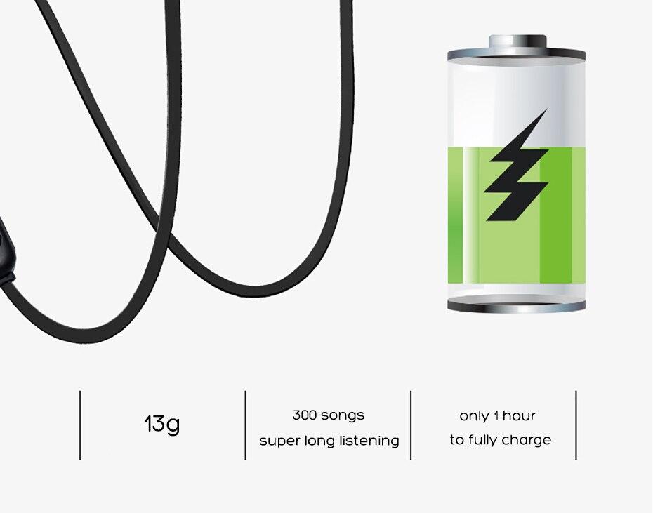 Wireless Headphone Bluetooth Earphone Magnetic Headset Neckband Sport Running Bluetooth Earphones For iPhone 7 X Xiaomi Earphone (6)