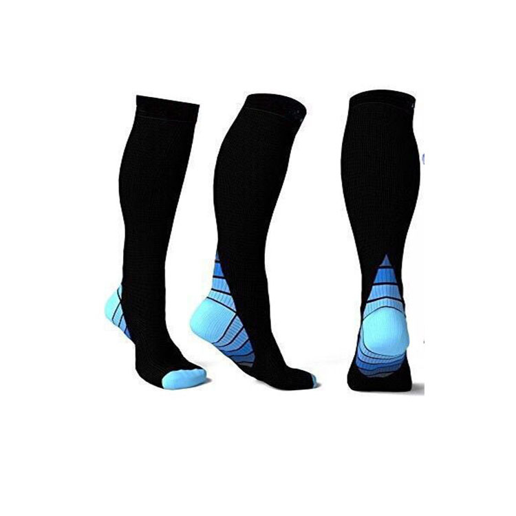 Mens Professional Compression Socks Breathable Travel long Activities Fit for Nurses Shin Splints Flight Travel