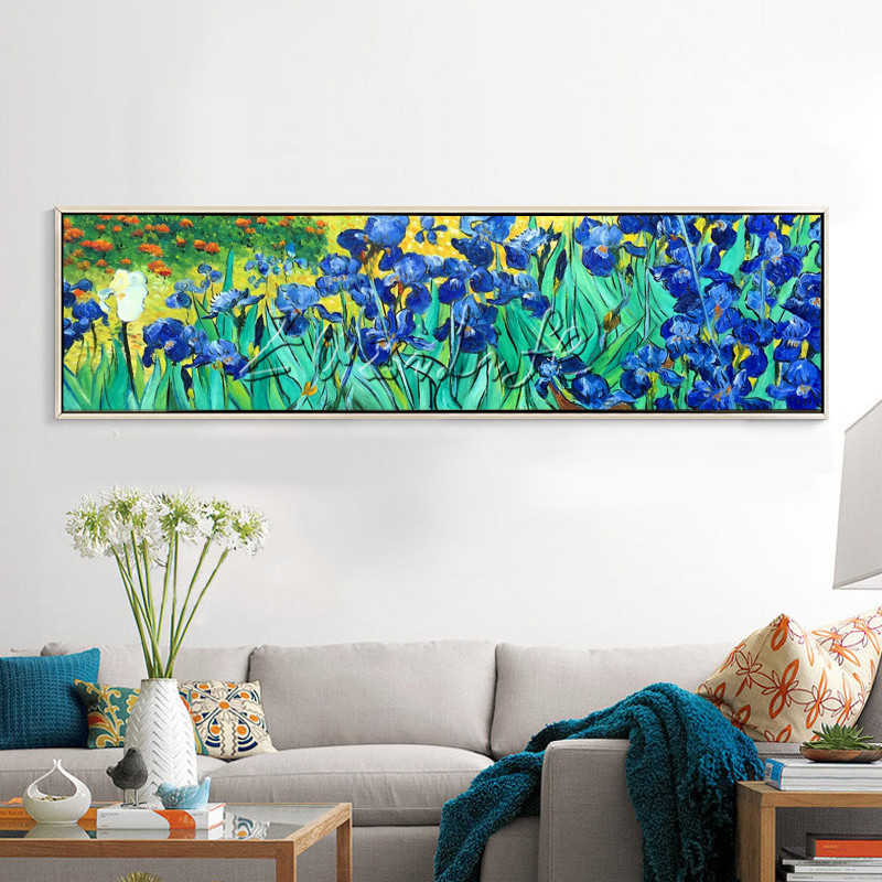 Canvas Painting Van Gogh Flower Painting Wall Art Pictures
