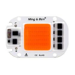 Светодиодный растет свет лампы чип полный спектр рост светодиодный чип AC 110 V 220 V 20 W 30 W 50 W для комнатных растений и рассада цветов огни роста