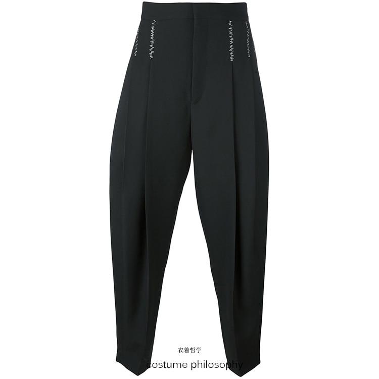 Ligne Pantalon Styliste Harem Noir 2018 Plus Chanteur Hommes Taille Costumes Mode 27 Balle Hot De Gd Cheveux Décontracté Vêtements Catwalk New 44 Fxa7qnzw7Z