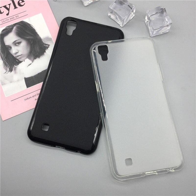 Funda suave de silicona Para teléfono Para LG X Power K210 K450 K220 K220DS k220y k220 LS755 US610 F750K Xpower funda negra