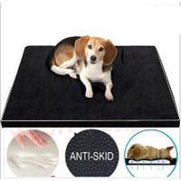LanLan Detachable Memory Foam Dog Puppy Mat Pet Bed Cat Pad Cushion M/L/XL Pet House Black