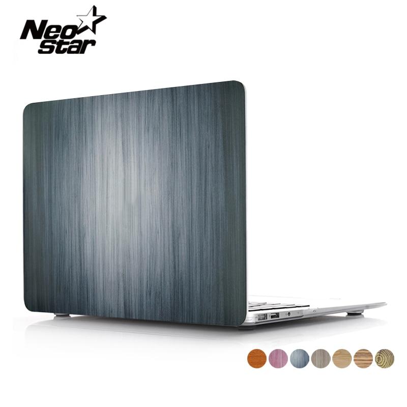 Visas medienos grūdų dėklas Macbook Air Pro Retina 11 12 13 15 - Nešiojamų kompiuterių priedai - Nuotrauka 1