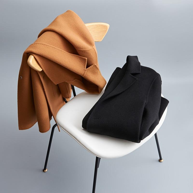 2018 new arrival winter coat men high quality wool Classic trench coat men parka,men's fashion casual jacket plus size M XXXL