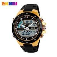 SKMEI Men Sports Watches Fashion Casual Men S Watch Digital Analog Alarm 30 Waterproof Man Military