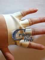 Crazy Club New Arrival Short Gloves Half Fingers Free Latex Wrist Free Shipping Fast Delivery