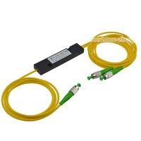 1x2 FC/APC Fiber Optic PLC Splitter Fiber splitters Fiber pigtails FBT splitters
