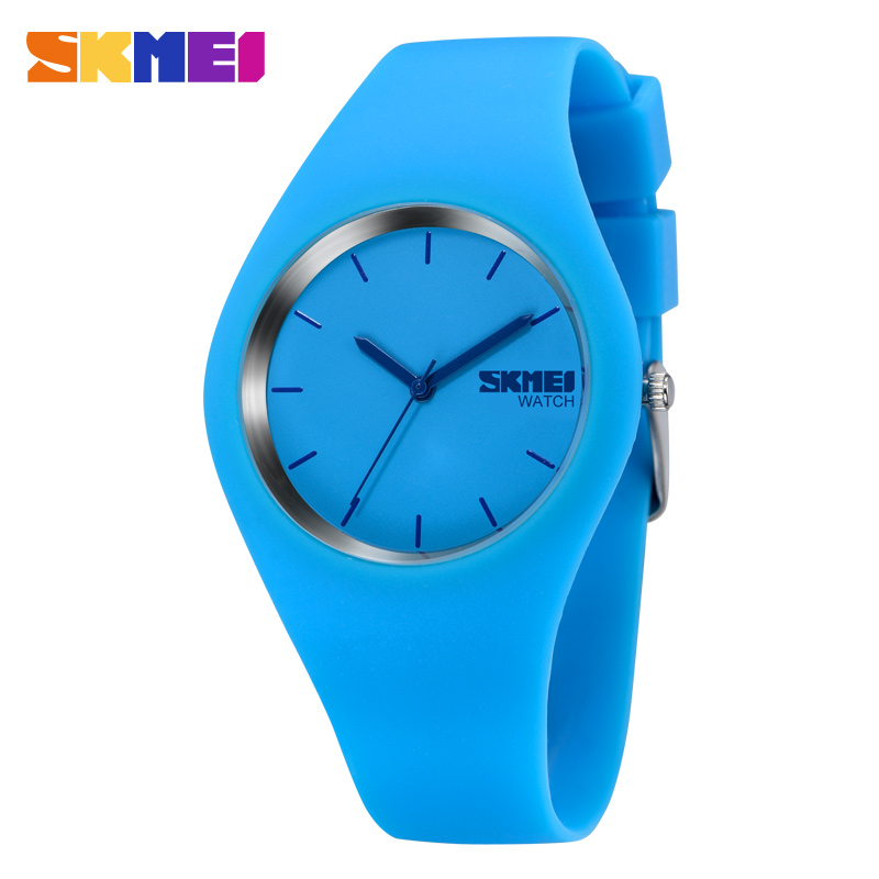 2016 Newest Fashion Brand Women Colorful Jelly Watch font b Men b font Silicone Band Quartz