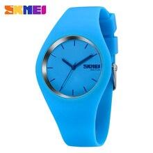 2016 La Más Nueva Manera Mujeres de la Marca de Reloj Colorido de La Jalea Banda de Silicona Hombres Reloj de Cuarzo 30 M Impermeable de Los Deportes de Relojes de Pulsera