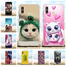 For Samsung Galaxy A60 Case Soft TPU Silicone SM-A606F Cover Cute Patterned Shell