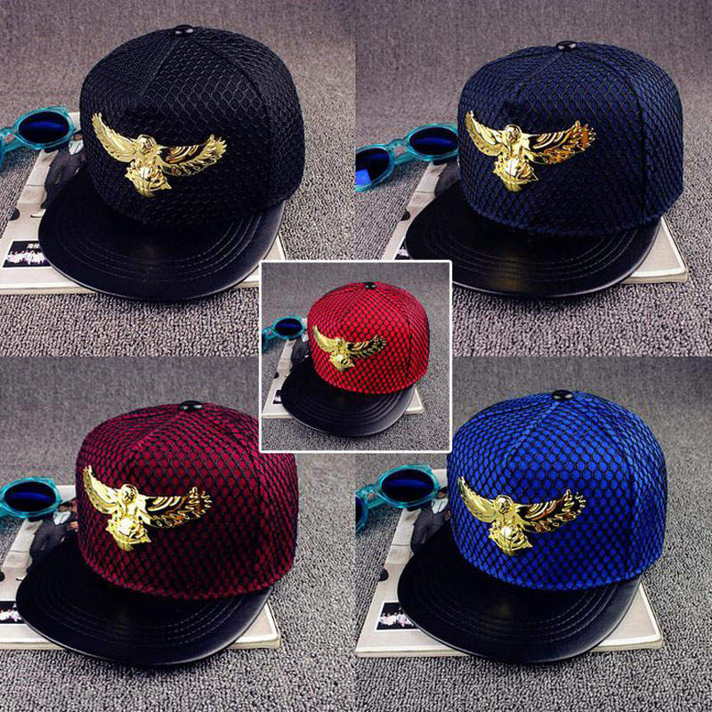 2016 New Summer Brand Eagles metal Europe Baseball Cap Hat For Men Women Casual Bone Hip Hop Snapback Caps Sun Hats 2016 new unisex solid knit beanie hat winter sports hip hop caps for men and women bonnet gorros 20 colors for choose