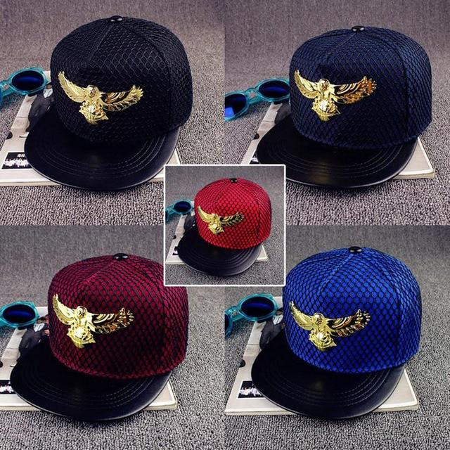 2016 verano nuevo marca Eagles metal Europa sombrero gorra de béisbol para  hombres mujeres casual hip 69d72f5f3da